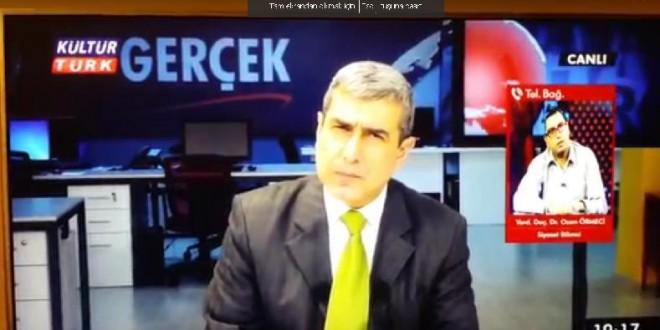 YRD. DOÇ. DR. OZAN ÖRMECİ, REİNA TERÖR SALDIRISINI KÜLTÜR TÜRK TV'DE YORUMLADI