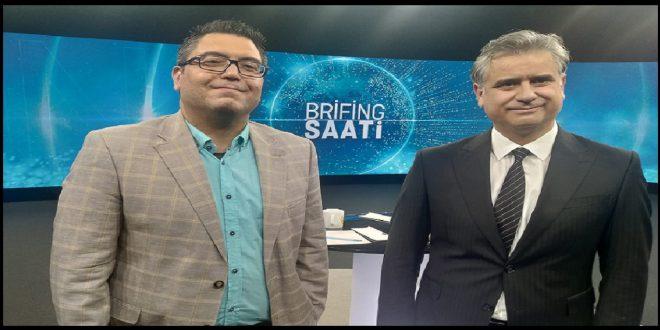 "DOÇ. DR. OZAN ÖRMECİ TV24 KANALINDA ""BRİFİNG SAATİ"" PROGRAMINA KONUK OLDU"