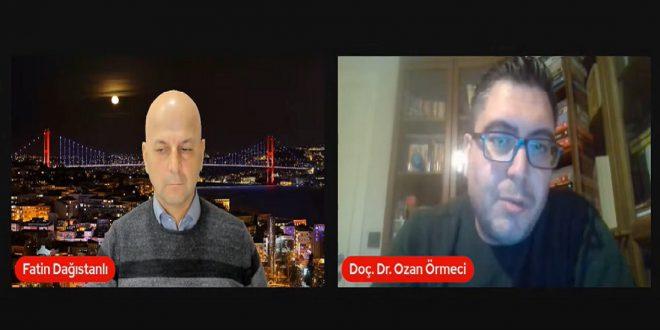 DOÇ. DR. OZAN ÖRMECİ, TÜRK-AMERİKAN İLİŞKİLERİNDEKİ GÜNCEL GELİŞMELERİ GAZETECİ FATİN DAĞISTANLI'NIN PROGRAMINDA DEĞERLENDİRDİ